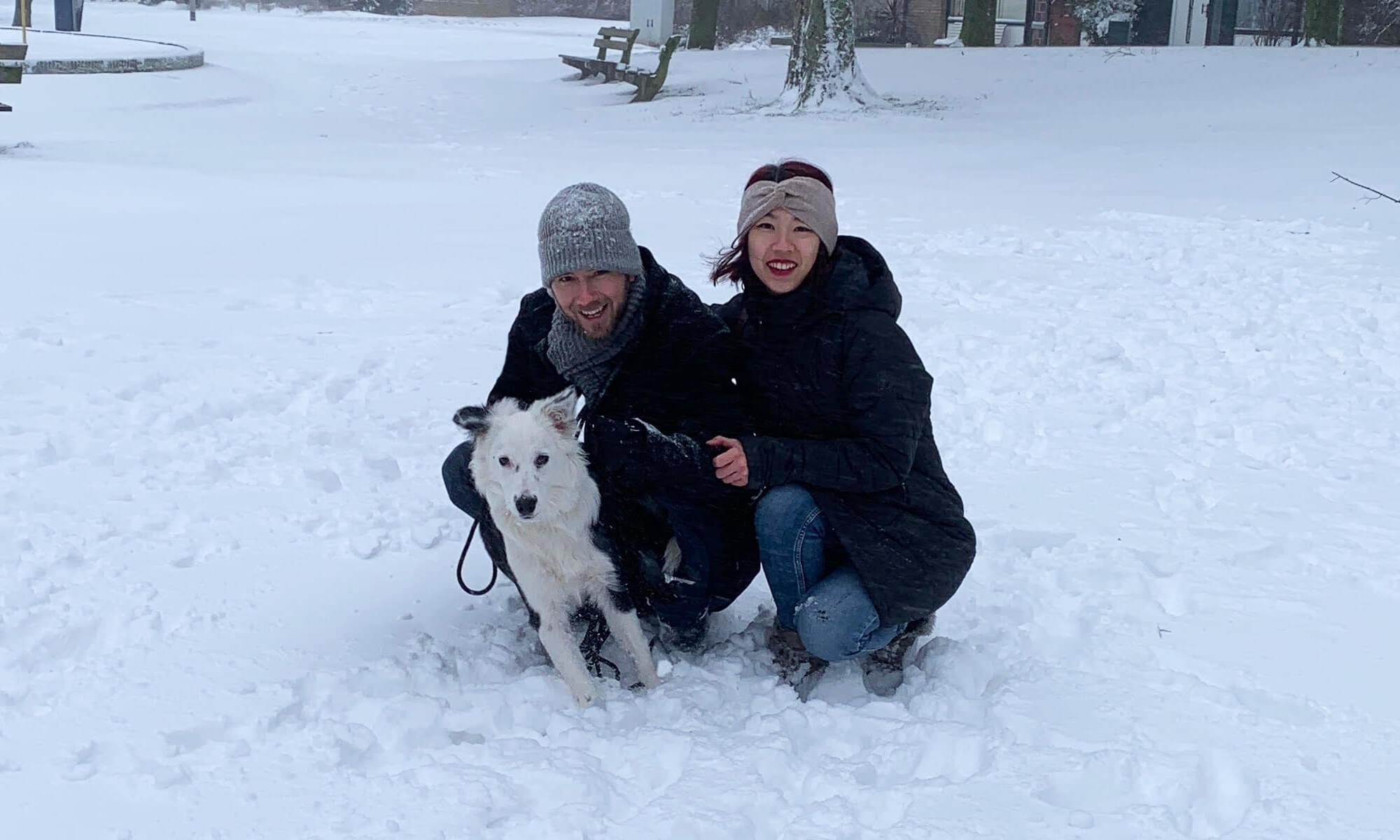 Snow and ice fun!
